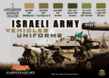 LC-CS32 Israeli Army Vehicles & Uniforms Set (22ml x6)